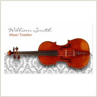 The Best Business Cards Of Cello Teacher Music Business Cards For String Instrument Players And Teachers