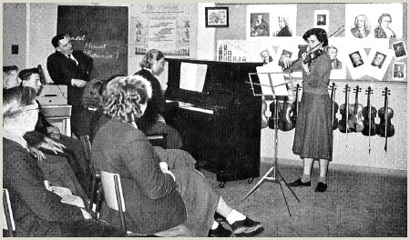 The Best Business Cards Of Cello Teacher Music In Schools 1960