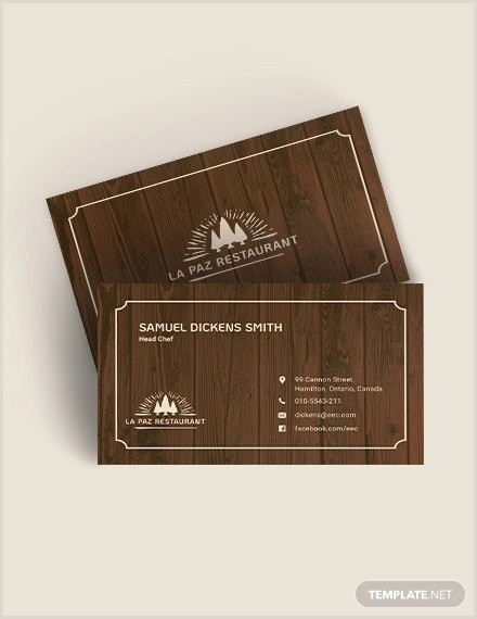The Best Business Cards Woodworking 18 Best Wood Business Card Templates Psd Word