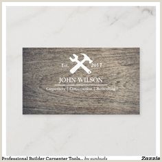 The Best Business Cards Woodworking 90 Carpenter Business Card Templates Ideas In 2020