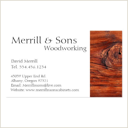 The Best Business Cards Woodworking Woodworking Business Card Templates