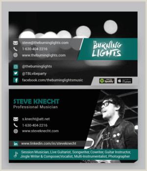 The Very Best Business Cards For Bands Pics Band Business Cards