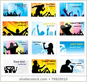 The Very Best Business Cards For Bands Pics Business Card Rock Band Stock S & Vectors