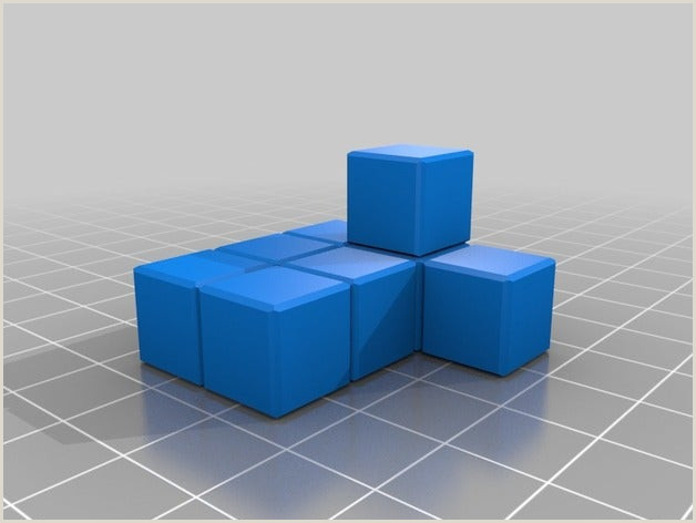 Things To Put On The Back Of A Business Card 4x4x4 Puzzle Cube By Thebrianj Thingiverse