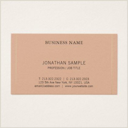 Title On Business Card Professional Modern Creative Clean Design Luxury Business