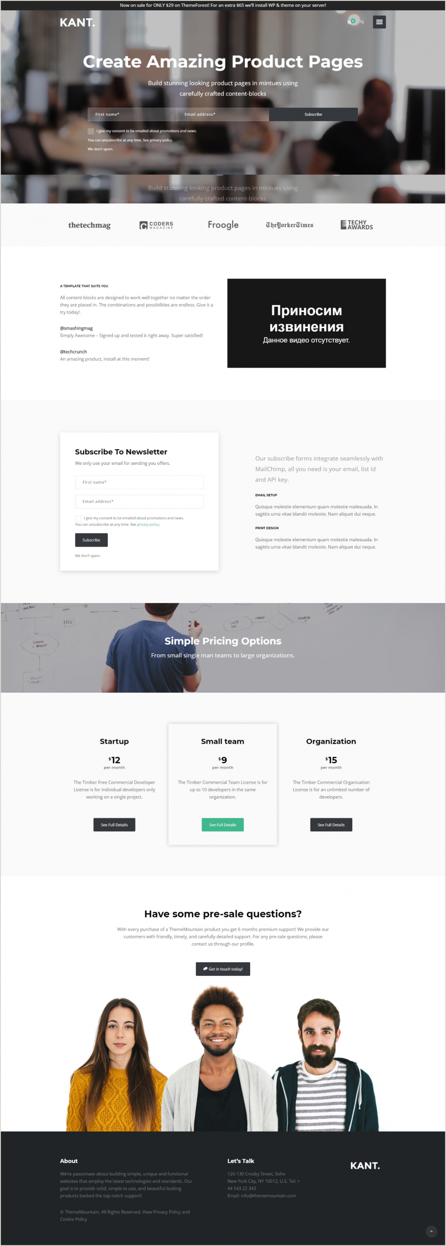 Top 10 Creative Agencies Top 10 Modern Stylish & Trendy WordPress Themes For A New