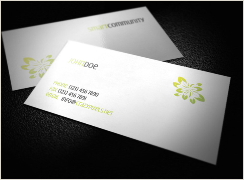 Top Business Card Design 18 Free Unique Business Card Designs Top Templates To