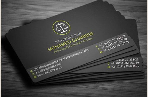 Top Business Card Design 30 Must See Lawyer Business Card Designs