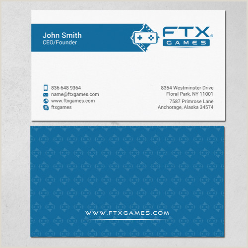 Top Business Card Design Where Hollywood Meets Games And We Need A Business Card To