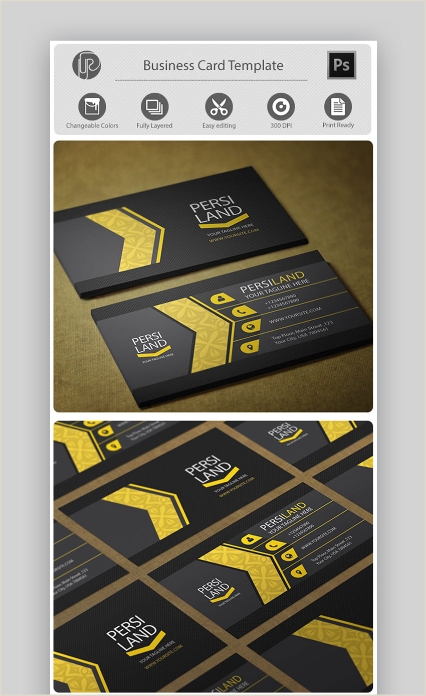 Top Business Cards 25 Best Personal Business Cards Designed For Better