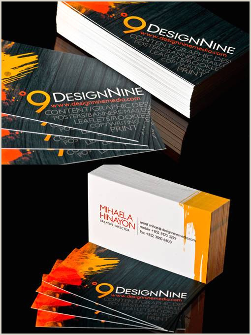 Top Business Cards 30 Outstanding Business Cards – Nd