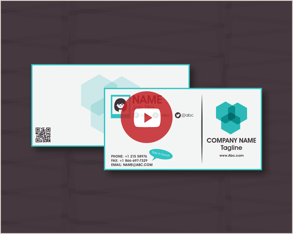 Top Business Cards Elements For A Top Business Card