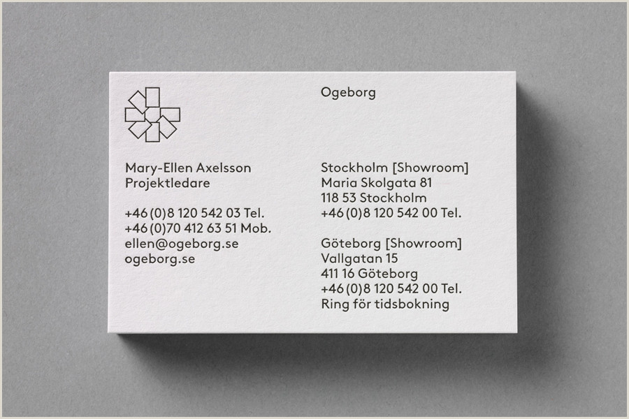 Traditional Business Card The Best Business Card Designs No 8 — Bp&o