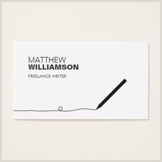Traditional Business Cards 100 Writer Business Cards Ideas