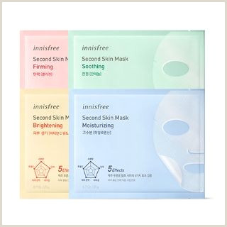 Types Of Business Card Innisfree Second Skin Mask 4 Types Soothing Codipop