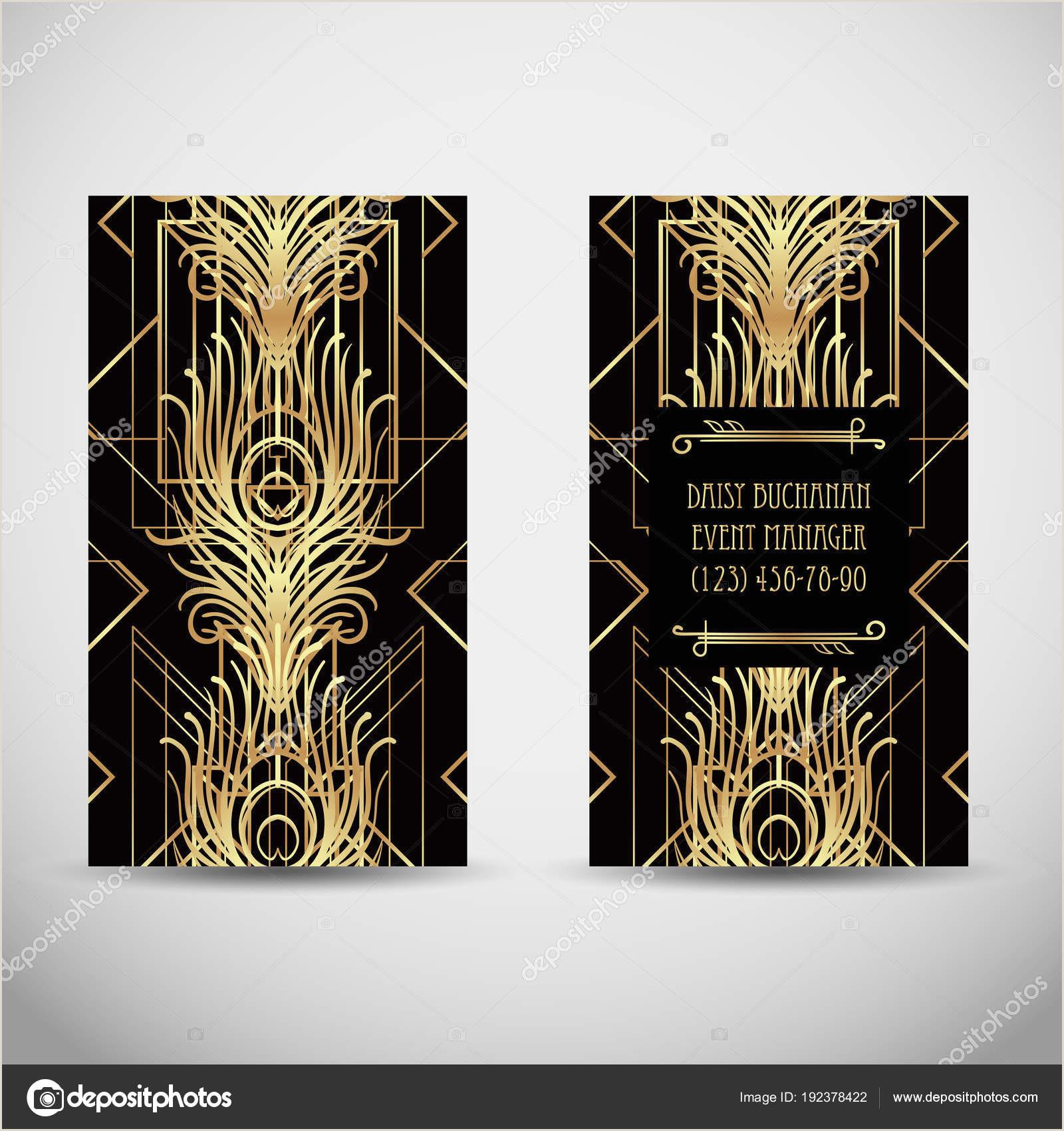 Unique Artist Square Business Cards Art Deco Style Business Card