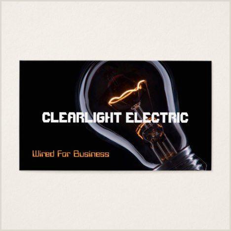 Unique Badass Electrician Business Cards Electric Electrician Electricity Business Card