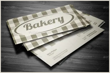Unique Bakery Business Cards 41 Bakery Business Card Templates Free Vector Design Ideas