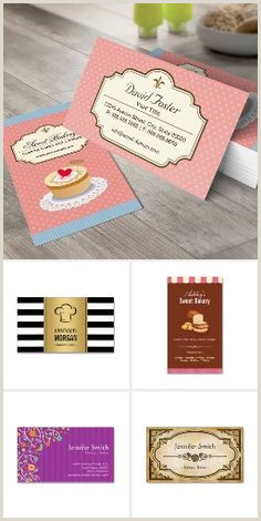 Unique Bakery Business Cards 500 Bakery Business Cards Ideas
