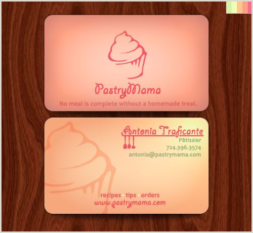 Unique Bakery Business Cards Bakery Business Cards 20 Examples Of Pastry Shop Business