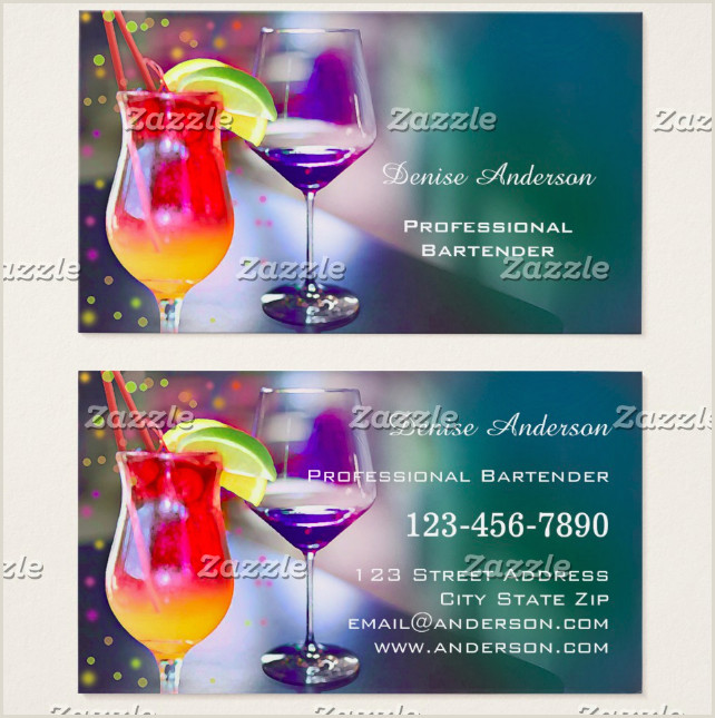 Unique Bartender Business Cards 12 Bartender Business Card Designs & Templates Psd Ai