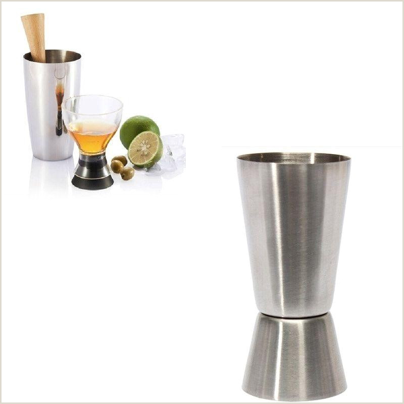 Unique Bartender Business Cards 2020 Latest Stainless Double Jigger Shot Glass Cocktail Bartender Mixer Measuring Cup Bar Accessories From Qiananclothings $14 08