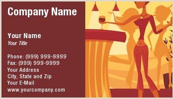 Unique Bartender Business Cards Bartender Business Cards