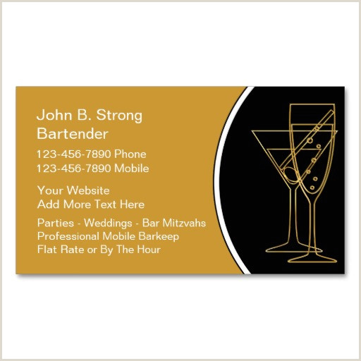 Unique Bartender Business Cards Bartender Business Cards Quotes Quotesgram