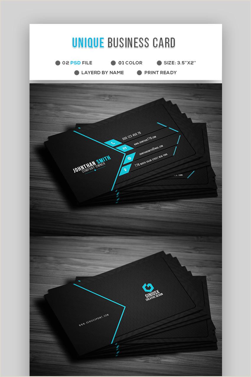 Unique Business Card Templates 18 Free Unique Business Card Designs Top Templates To