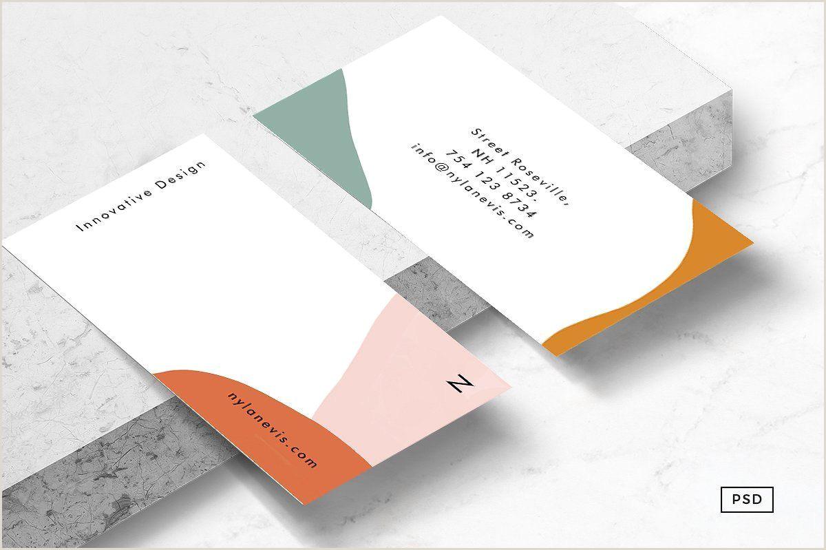 Unique Business Card Templates Isla Business Card Template