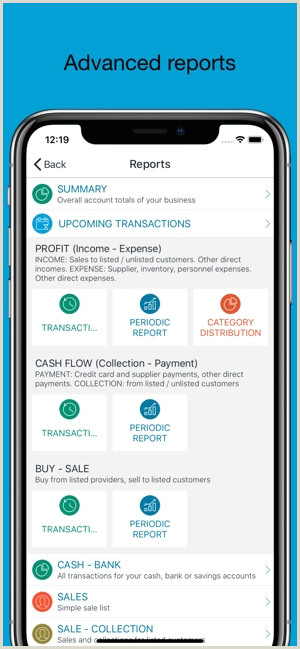 Unique Business Cards Accounting Category Account Book Money Manager On The App Store