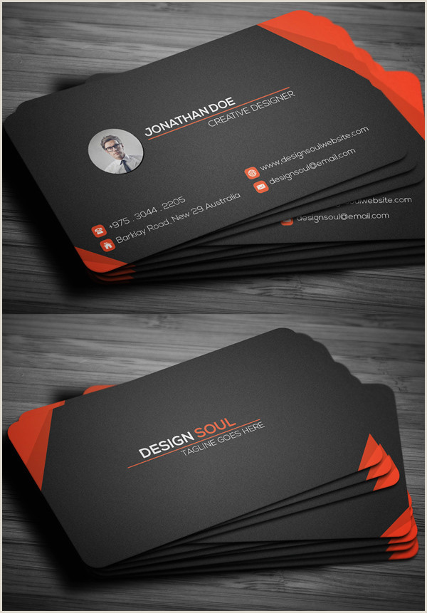 Unique Business Cards And Constructions Modern Business Cards Design 26 Creative Examples