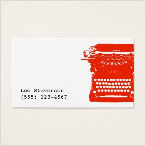 Unique Business Cards Authors 100 Writer Business Cards Ideas
