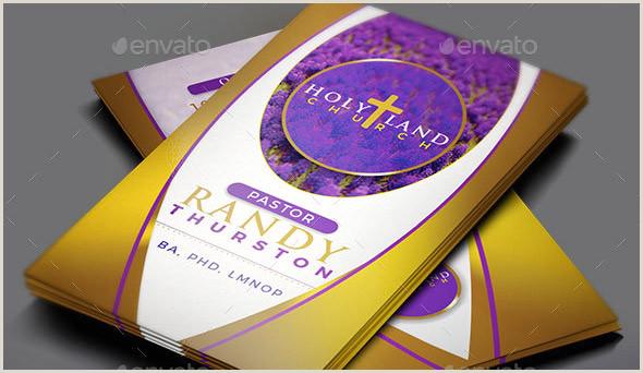 Unique Business Cards Church Or Pastors 17 Cool Church Business Card Psds – Desiznworld
