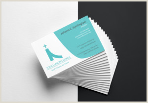 Unique Business Cards Church Or Pastors Church Business Cards