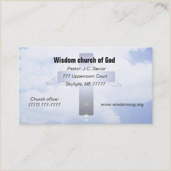 Unique Business Cards Church Or Pastors Pastors Business Cards