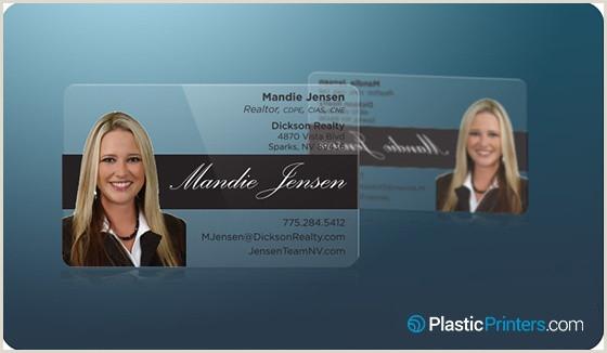Unique Business Cards Clear 20 Killer Plastic Business Card Designs