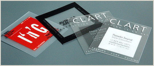 Unique Business Cards Clear 40 Creative Examples Transparent Business Cards