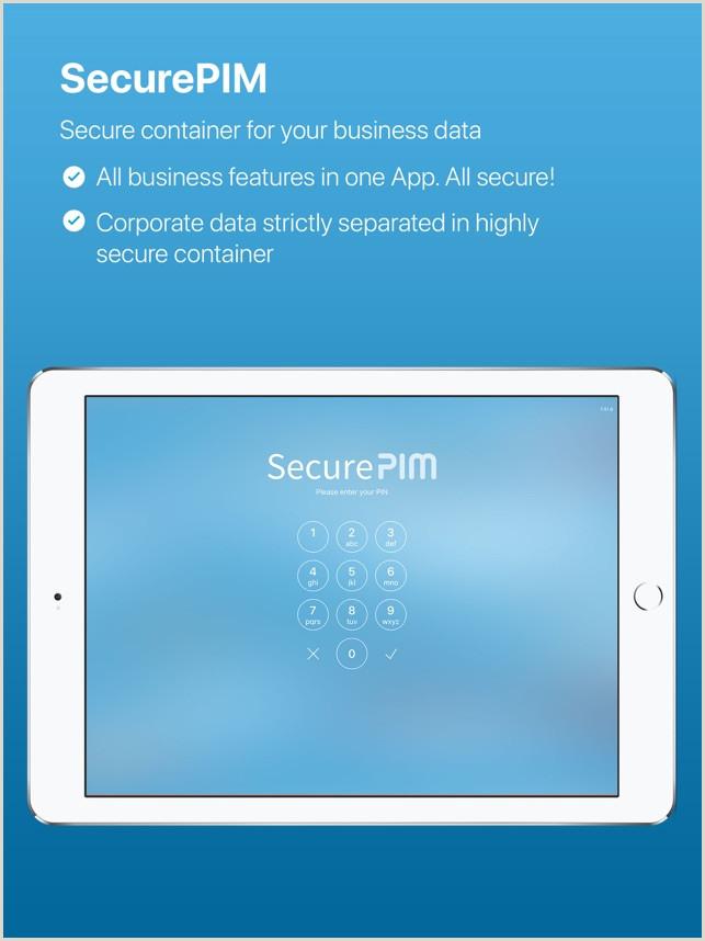 Unique Business Cards Container Securepim On The App Store