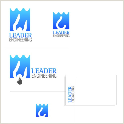 Unique Business Cards Engineering Logo & Business Card Design For Engineering Pany