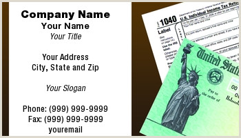 Unique Business Cards For A Bookkeeper Bookkeeper Business Cards