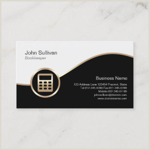 Unique Business Cards For A Bookkeeper Bookkeeping Business Cards