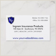 Unique Business Cards For Annuity Brokers 200 Auto Insurance Business Cards Ideas In 2020