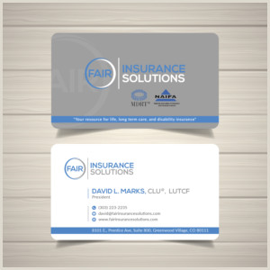 Unique Business Cards For Annuity Brokers Broker Business Cards