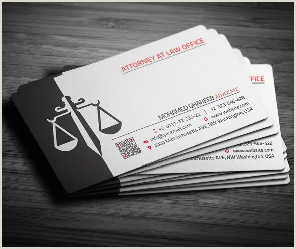 Unique Business Cards For Attorney 25 Creative Lawyer Business Card Templates