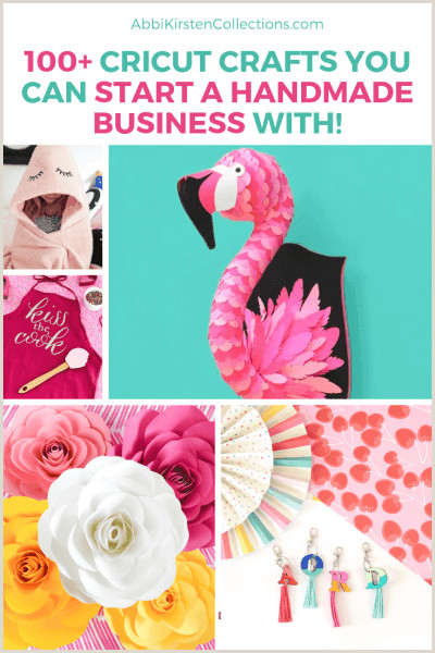 Unique Business Cards For Crafters Over 100 Of The Best Cricut Crafts To Make And Sell