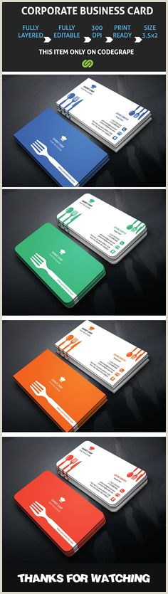 Unique Business Cards For Personal Chefs 10 Chef Buisenes Card Ideas