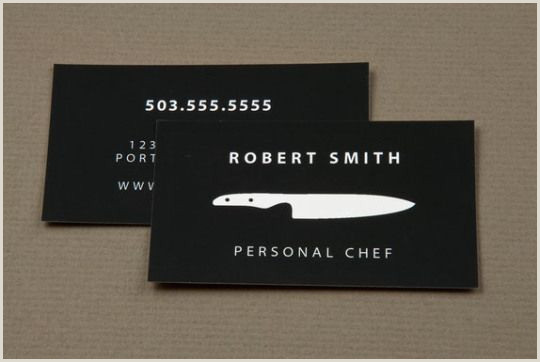 Unique Business Cards For Personal Chefs 30 Examples Creative Chef Business Card For Inspiration