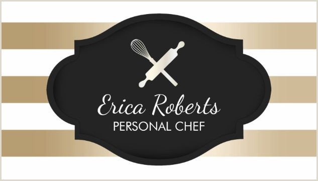 Unique Business Cards For Personal Chefs Girly Cooking And Chef Business Cards Girly Business Cards