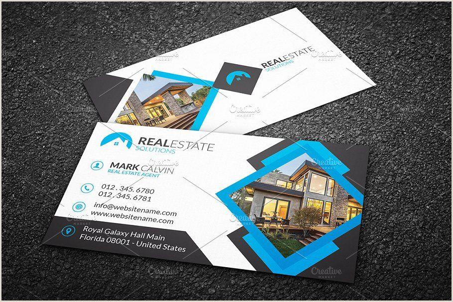 Unique Business Cards For Realtors Real Estate Business Card 42 Business Estate Real Templates